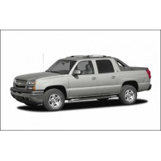 Chevrolet Avalanche 2002 to 2006 Service Workshop Repair manual