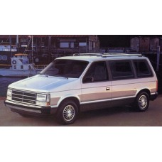 Dodge Caravan 1984 to 1990 Service Workshop Repair manual